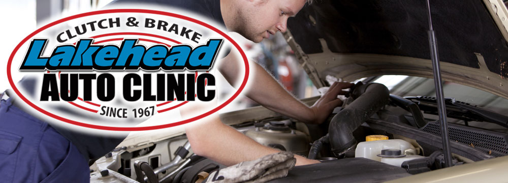 At Lakehead Clutch & Brake, we are your automotive service professionals!